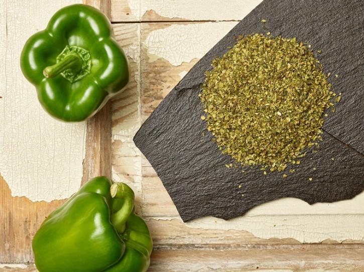 Paprikagranulat grün 1-3 mm 5 Kg
