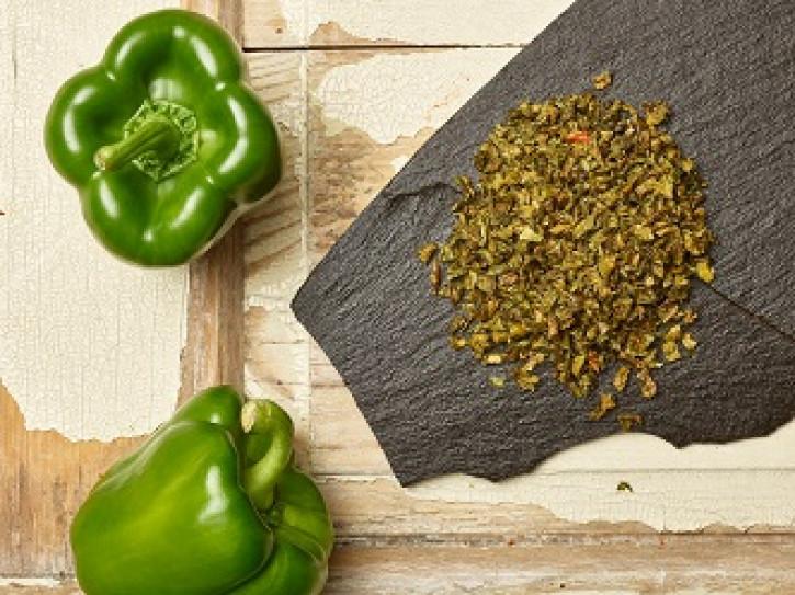 Grüne Gemüsepaprikaflocken 5 Kg