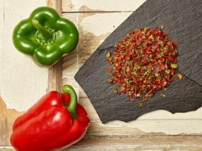 Gemüsepaprikaflocken rot/grün 15 Kg